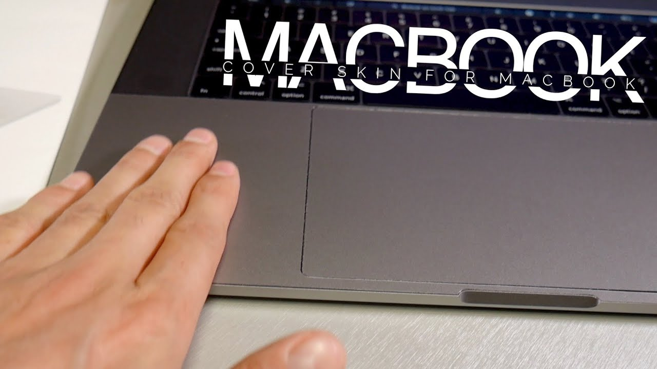 Macbook Pro 2017 Palm Rest Cover Skin with Trackpad Protector for New 15  Inch