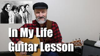 In My Life Guitar Lesson Tutorial