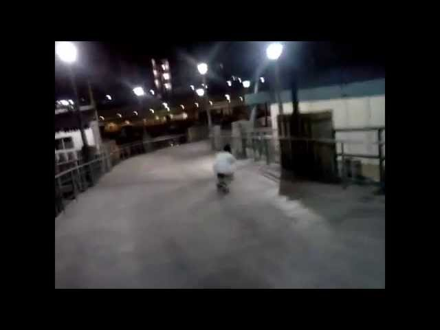 Shining and Grinding  HD skateboarding video with Michael Aranda