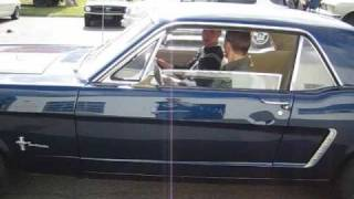 Ford Mustang 1965 Black Plate