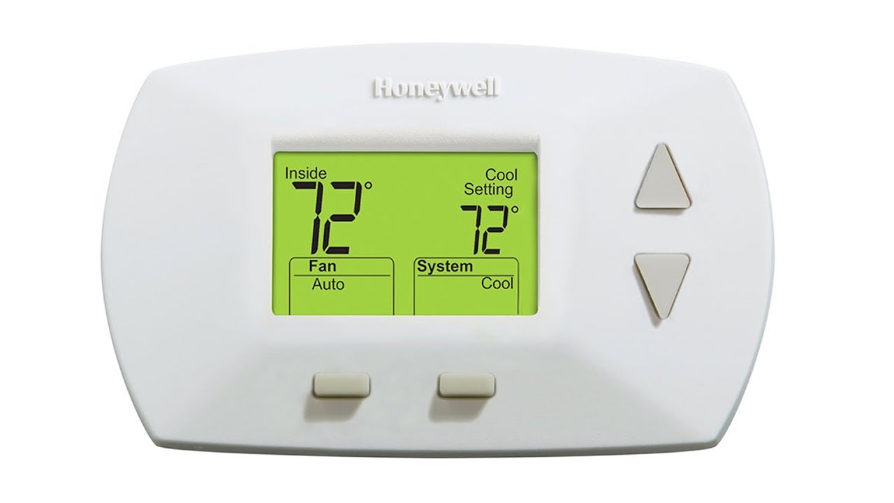 Honeywell Heat Cool Deluxe Digital Non Programmable Thermostat  Rthl3550d