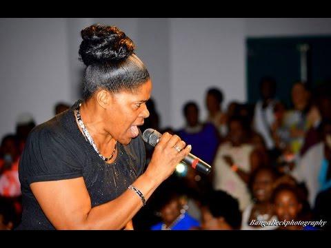 Veteran Jamaican gospel music singer, Pastor Joan Flemmings