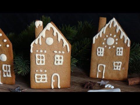 Lebkuchenhaus/ Basic Rezept für Lebkuchen/ Lebkuchen-Häuschen
