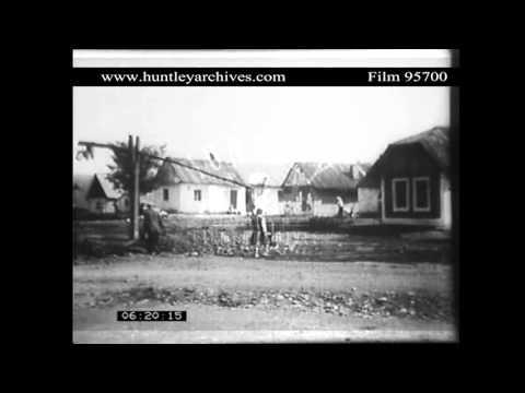 Ruthenian villagers, Ukraine, 1920