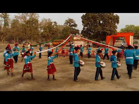 School Band competition at brajendra swarup park kanpur(2)