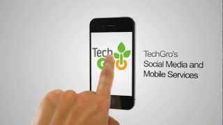 TechGro Mobile And Social Networking Services Promo