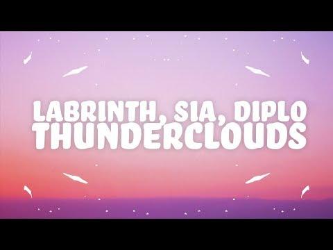 LSD - Thunderclouds (Lyrics) Ft. Sia, Diplo, Labrinth