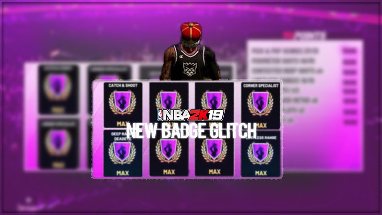 2 New Badge Glitches In Nba 2k19 Xb1 Ps4 Pc