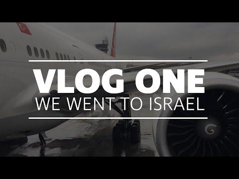 VlOG ONE // we went to Israel!!