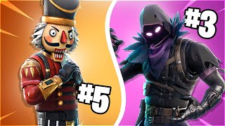 💸 RANKING OF THE BEST LEGENDARY SKINS IN FORTNITE: BATTLE ROYALE! 💸 [Flopper]