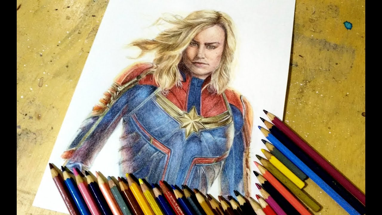 Drawing Captain Marvel Carol Danvers Brie Larson Captain Marvel Youtube Shop top fashion brands clothing, shoes & jewelry at amazon.com ✓ free delivery and returns. drawing captain marvel carol danvers brie larson captain marvel