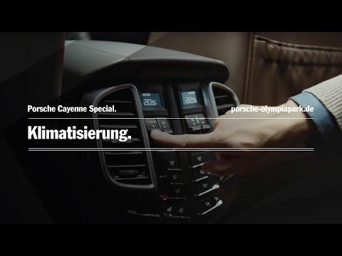 Porsche Cayenne - Klimatisierung