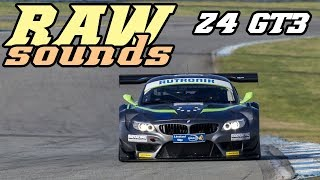 RAW sounds - BMW E89 Z4 GT3 (Hockenheim 2018)