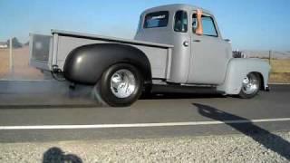 Jim's 1954 Chevy Truck Prostreet Blown 6-71 Small Block
