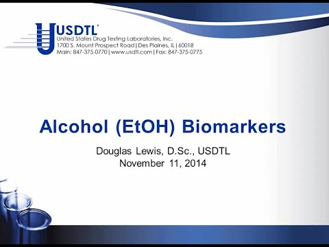 Webinar Direct Alcohol Biomarkers - EtG and PEth