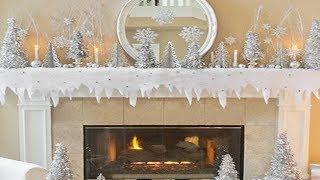 Gambar cover 2018 Winter Fireplace Mantel Decoration Ideas 2