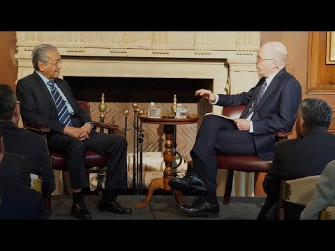 A Conversation With Mahathir Mohamad
