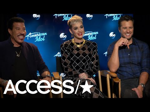 'American Idol' Judges Lionel Richie, Katy Perry & Luke Bryan Talk Chemistry, Contestants & More!