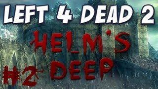 yogscast left 4 dead 2 helm s deep part 2 the wall of fire