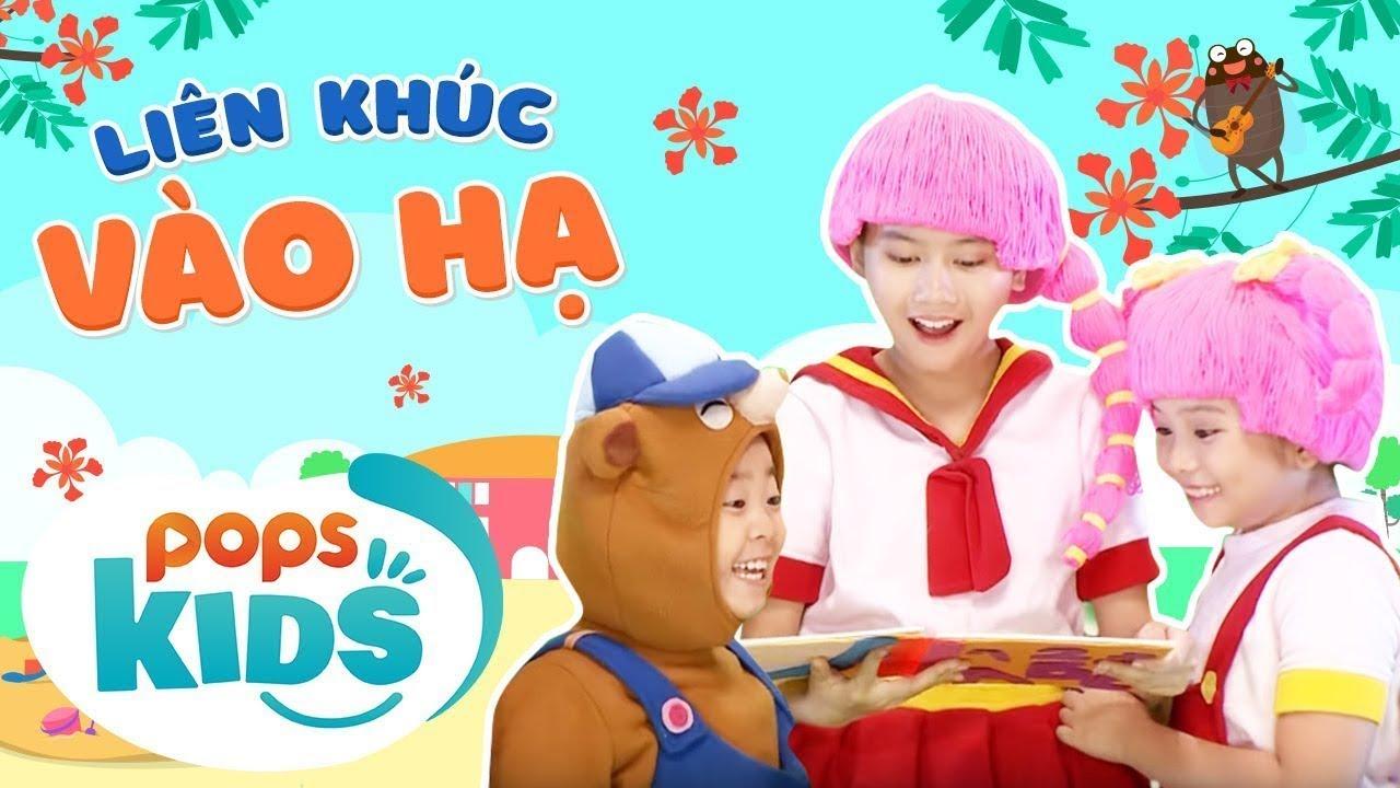 Mầm Chồi Lá - Liên Khúc Vào Hạ - Nhạc Thiếu Nhi Sôi Động |Vietnamese Kids Song