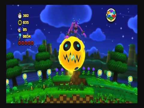 Super Sonic vs Zazz Boss 1-Sonic Lost World