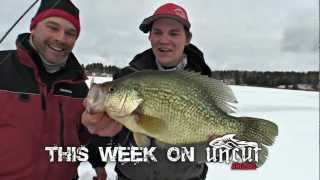 """Trailer for """"TagTeaming Huge Crappie & Cranking Drum"""" (TV Show 2) - Uncut Angling - January 7, 2013"""