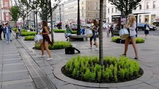 Смотреть видео Saint-Petersburg, Russia. Санкт-Петербург, Россия онлайн