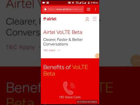 Airtel volte beta testing here how you get 30 gb data