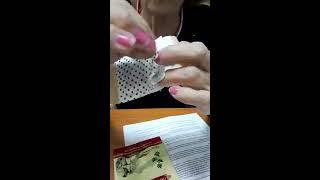 Мокса-пластырь  турмалином  (согревающий) Хаоган. Короткий обзор