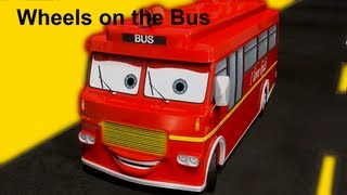 Wheels On The Bus |  Family Sing Along - Muffin Songs thumbnail