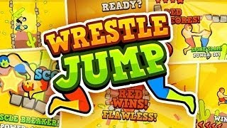 WRESTLE JUMP (iPhone, iPad & Android Gameplay) HD