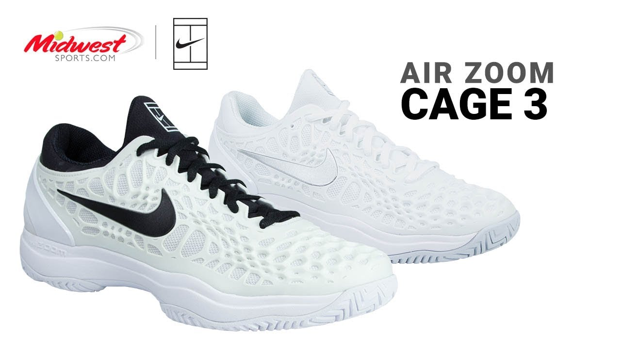 new arrival bf65b 841ae Nike Zoom Cage 3 Tennis Shoe