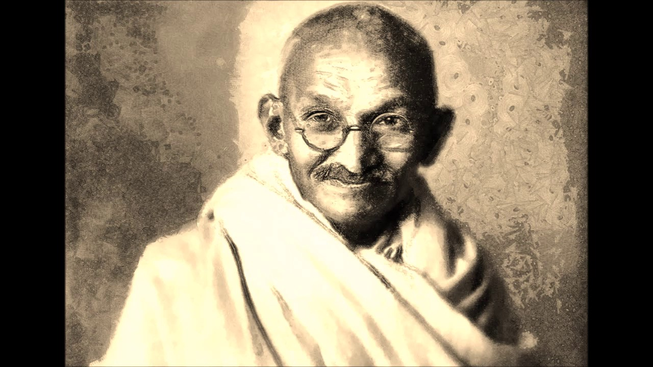 the life of m k gandhi in hindi Mahatma gandhi is remembered in the world for four major virtues they are non-violence, truth, love and fraternity by applying these.