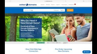 Register a Domain Name with United Domains