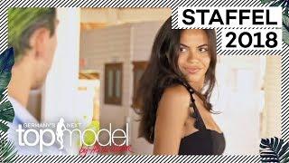 Das erste Casting für die Models | GNTM 2018 | ProSieben