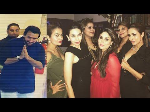 Kareena Kapoor & Saif Ali Khan's Christmas Party 2016