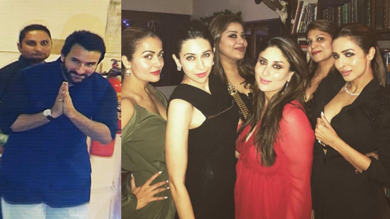 Kareena Kapoor Saif Ali Khan S Christmas Party 2016 Youtube