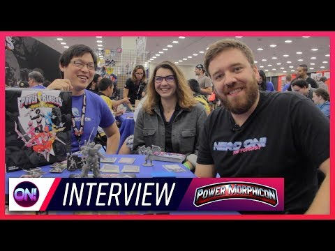 Power Rangers Heroes of the Grid FULL INTERVIEW // Power Morphicon