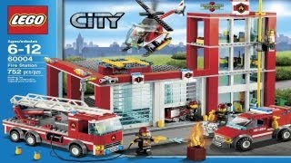 Lego City Instructions For 60004 - Fire Station