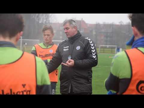 Kent Nielsen ser frem mod årets første træningskamp