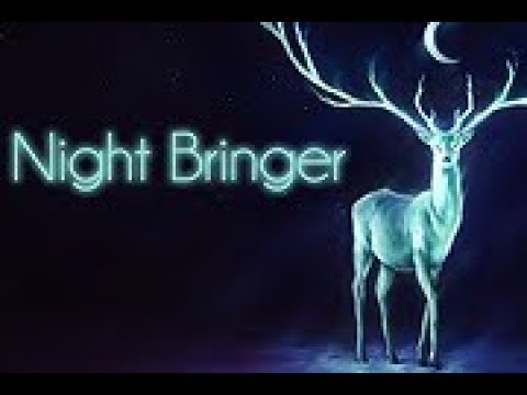 Magic glowing deer live wallpaper