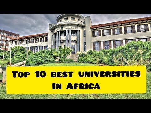 Top 10 Best Universities In Africa