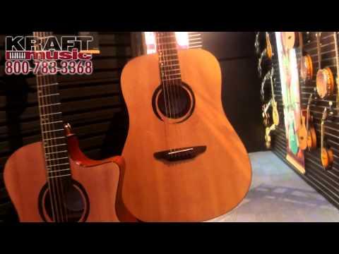 Kraft Music - Luna Wabi Sabi Acoustic Guitars NAMM 2015