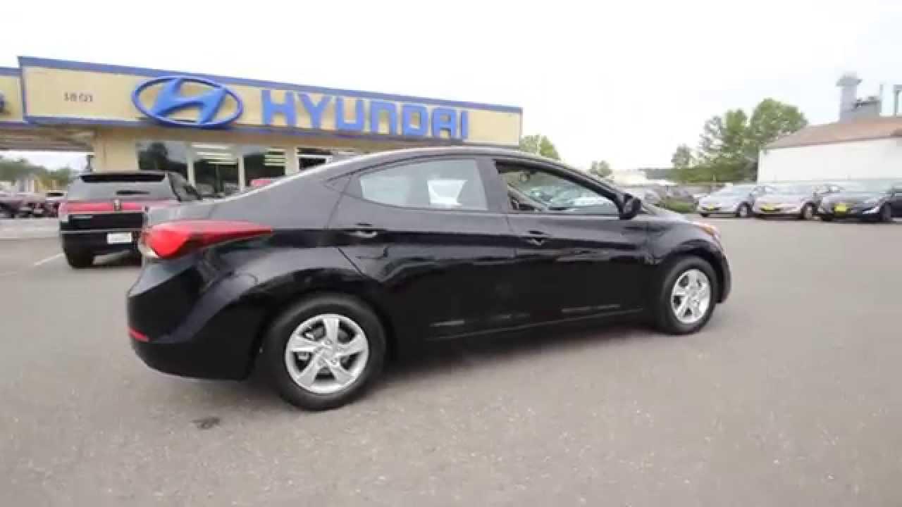 2014 Hyundai Elantra Se Black Eu206976 Skagit County