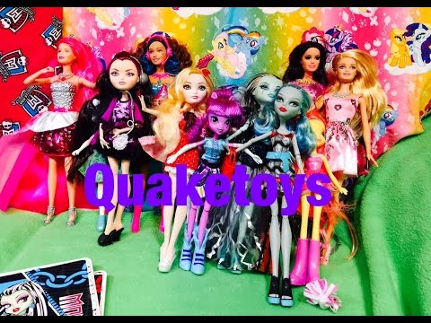 Equestria Girls Monster High Ever After High Barbie Doll Fashion Party Clothes Shoes