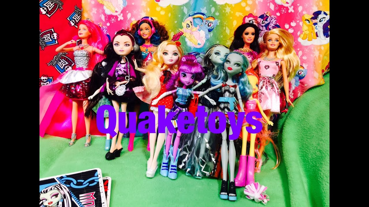 Equestria Girls Monster High Ever After High Barbie Doll