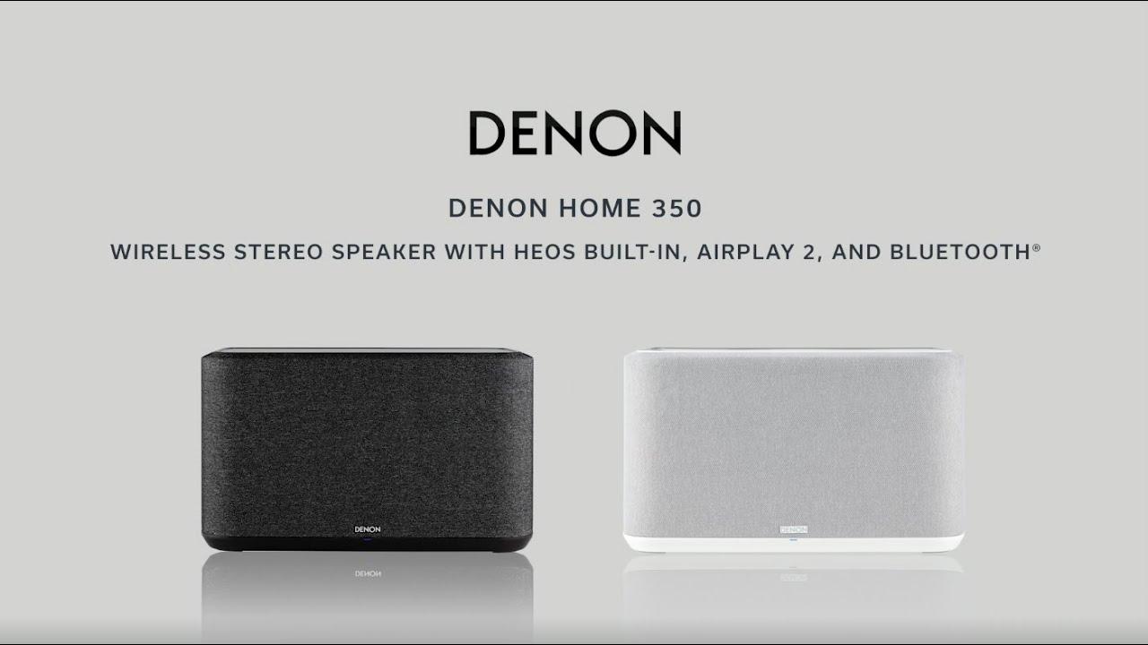 350 Large Wi-Fi Speaker (Black) video thumbnail