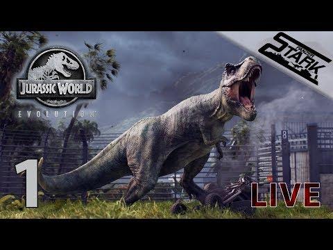 Jurassic World Evolution - 1.Rész (Saját parkot nyitunk!) - Stark LIVE