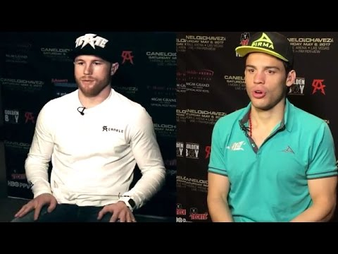 CANELO ALVAREZ AND JULIO CESAR CHAVEZ JR. LESS THAN 24 HOURS BEFORE WEIGH-IN; BEHIND-THE-SCENES LOOK