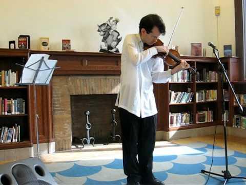 Paganini Caprice #4 - William Harvey, violin